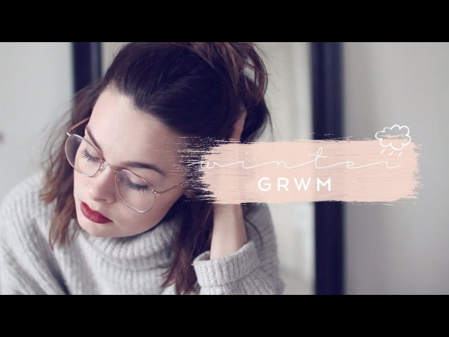Winter Morning Routine GRWM Cruelty Free Lucy Moon