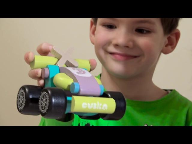 Розвиваюче відео з іграшками з дерева - З любов'ю до дітей