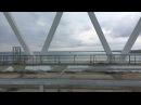 КрымскийМост_Live. Большой десантный корабль Азов проходит под ж/д аркой