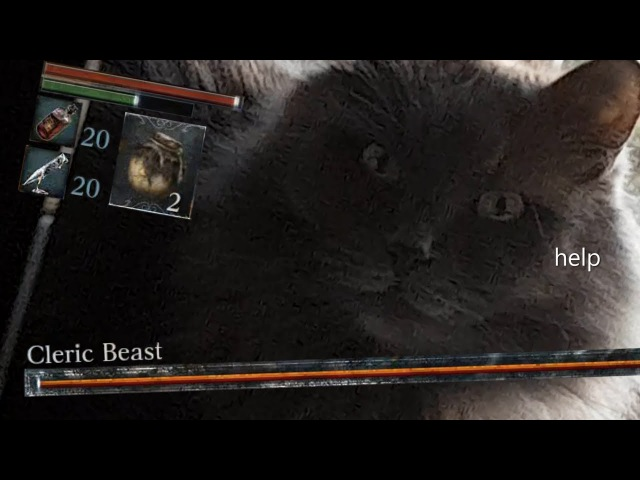 An Autist Scares His Cat With Cleric Beast Sound