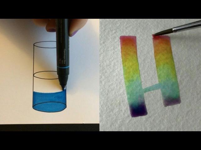 рисование акварелью рисование космоса и простые рисунки
