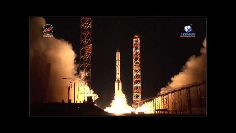 Пуск РКН Протон-М с КА АзиаСат-9