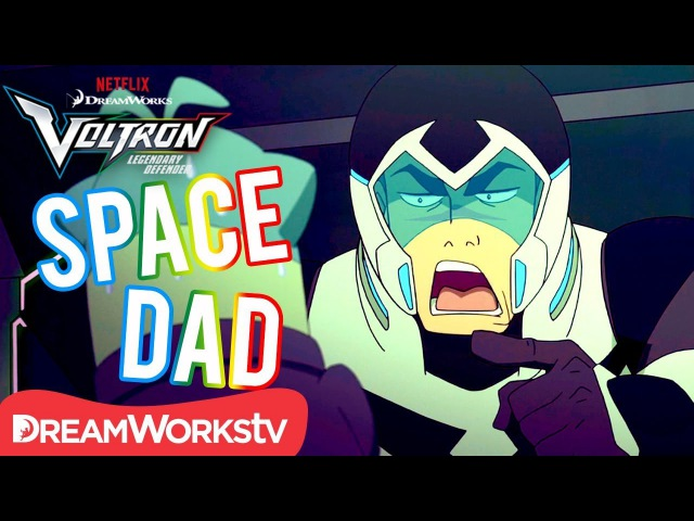 Shiro's Best Space Dad Moments | DREAMWORKS VOLTRON LEGENDARY DEFENDER