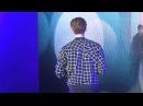 Jongsuk singing Pinocchio's OST at HK FM