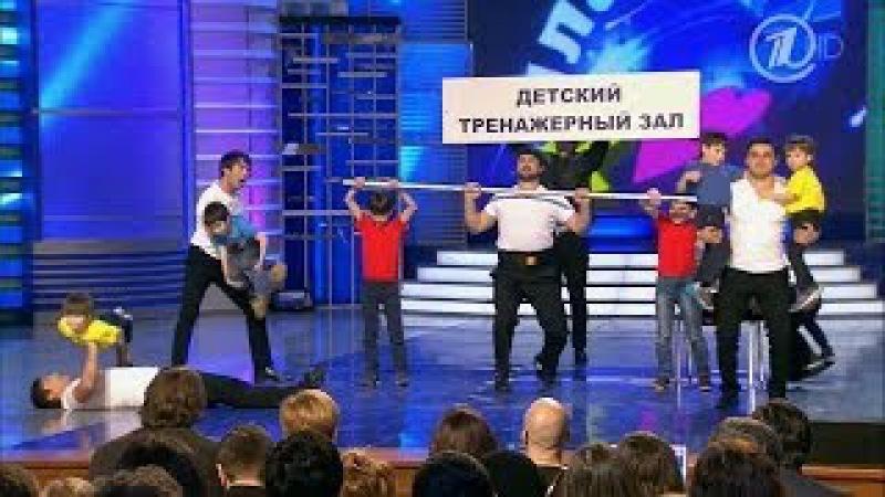 КВН Сборная Дагестана - 2014 Высшая лига вторая 1/4 Приветствие