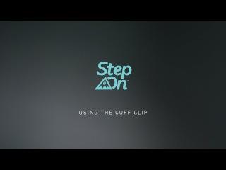 Burton Step On Tutorial - Using The Cuff Clip