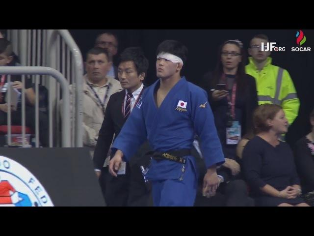 Shohei Ono vs Rustam Orujov Dusseldorf 2018 Final 73 kg