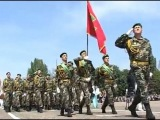 Военный парад 9 мая 2012. Одесса. Репортаж.
