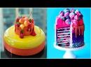 Рай для сладкоежек 😍 Постарайся не залипнуть 😱 Удивительные идеи украшения тортов 34