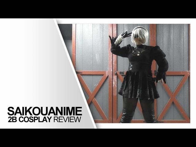 SaikouAnime - 2B NieR Automata Cosplay | SkitsoFanActs Review