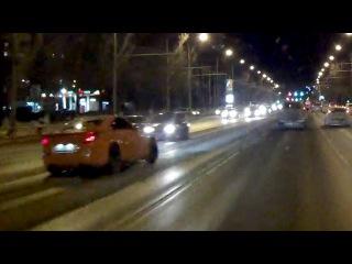 Спорткар устроил массовую аварию в Самаре