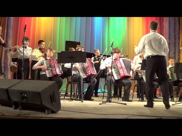 Г Свиридов Время вперед Эстрадный оркестр Шатурской детской школы искусств