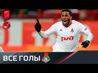 Локомотив. Все голы первой части сезона РФПЛ