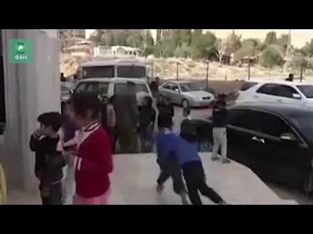 Сирия: в центре временного проживания для беженцев из Восточной Гуты дежурит военная полиция РФ