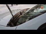 Жабо цельное Вариант 2 без скотча Renault Duster (russ-artel.ru)