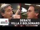 Qual foi o placar Villa e Bolsonaro protagonizam debate intenso Jornal da Manhã