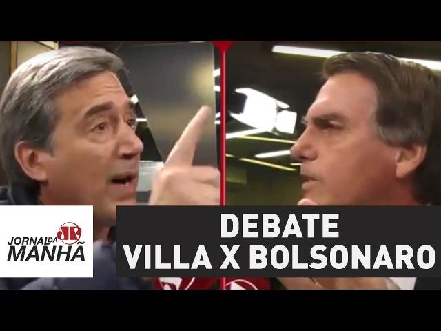 Qual foi o placar Villa e Bolsonaro protagonizam debate intenso | Jornal da Manhã
