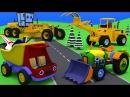 Развивающие мультфильмы. Сборник. Грузовик Тема, трактор Макс и техника. Мультик...
