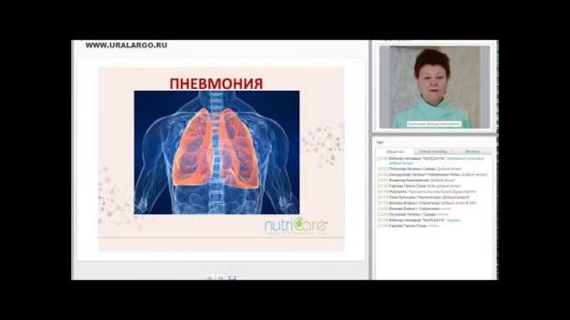 Пневмония: причины, профилактика, терапия (Nutricare 2018)