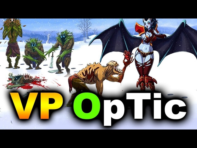 VP vs OpTic - NEW ROSTER DEBUT! - ESL KATOWICE MAJOR DOTA 2