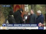 Brigitte Macron est arriv