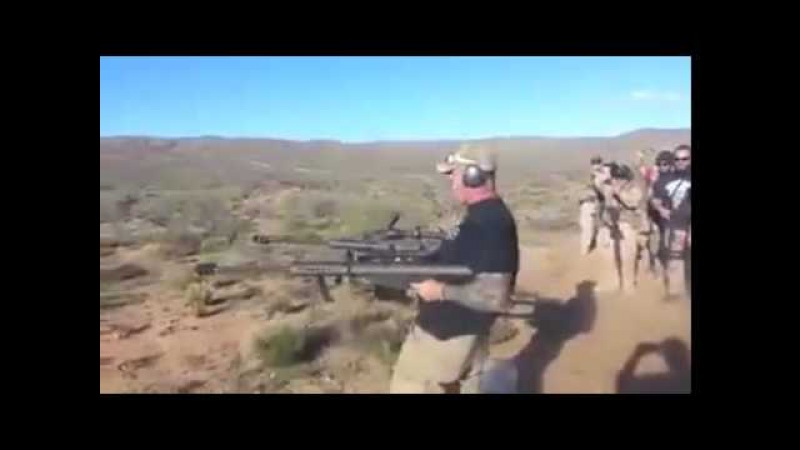 Barrett xm 109 2 anti tank rifle or YouTub
