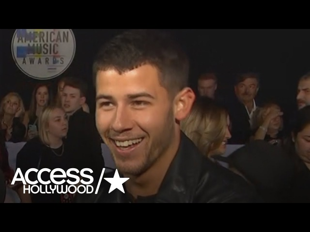 Nick Jonas Says He's Very Excited For Demi Lovato's 2017 AMAs Performance | Access Hollywood