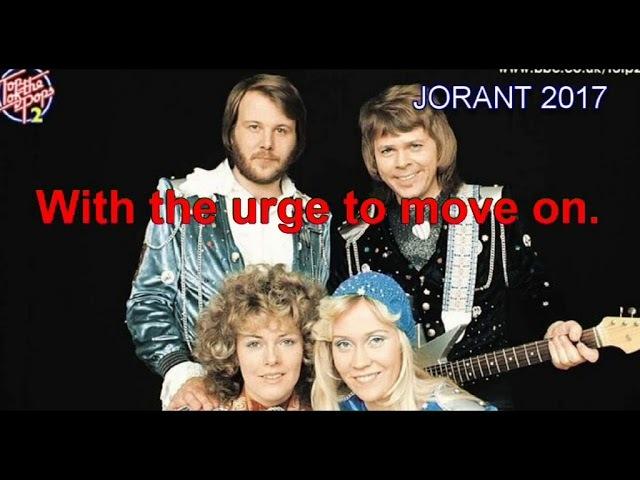 ABBA karaoke MOVE ON
