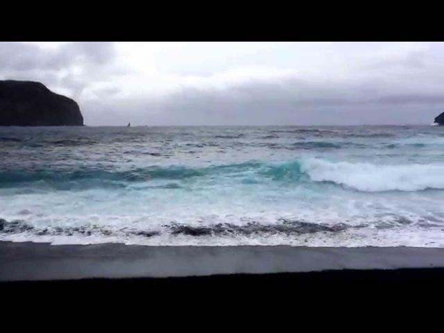 Океанское побережье о Сан Мигель Азорские острова Португалия