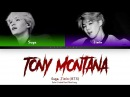 AGUST D | SUGA (ft. Jimin - BTS) - TONY MONTANA (Color Coded Lyrics/Eng/Rom/Han)