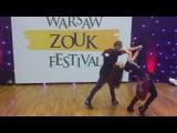 WZF2018 Larissa &amp Kadu - Zouk Funkeado Funky style &amp Syncopation Demo ~ video by Zouk Soul