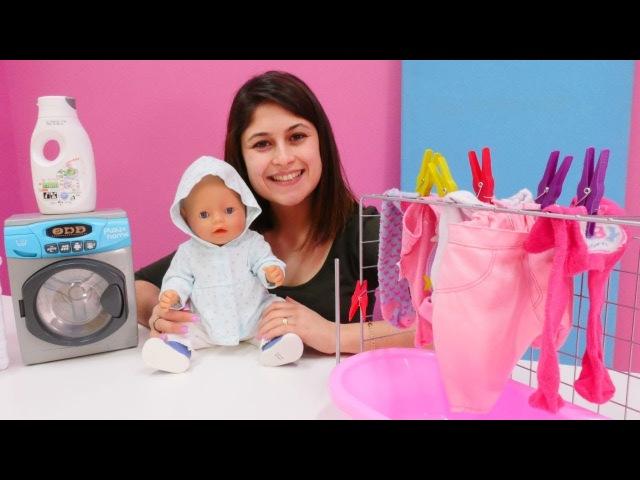 Ayşe Gül'e kıyafet alıyor! Bebek bakma oyunları