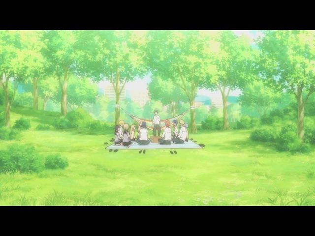 Всегда вялый Танака-кун / Tanaka-kun wa Itsumo Kedaruge 01 (субтитры)