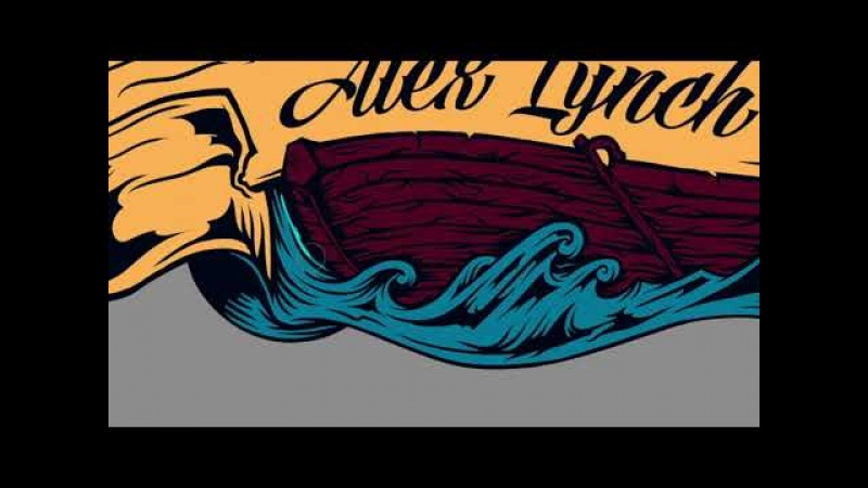 Process of drawing art for Alex Lynch