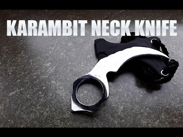 Making A Karambit How To Make A Neck Knife Karambit Eagle Claw