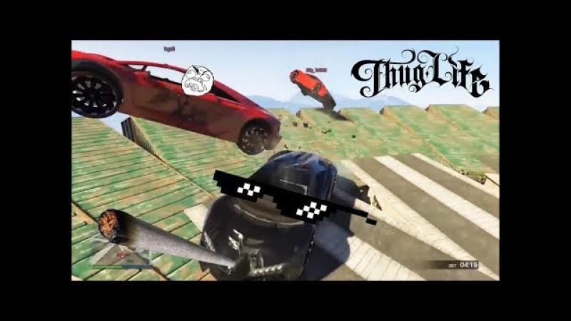 Приколы в GTA 5 | Баги, Приколы, Фейлы, Трюки, Смешные Моменты 13