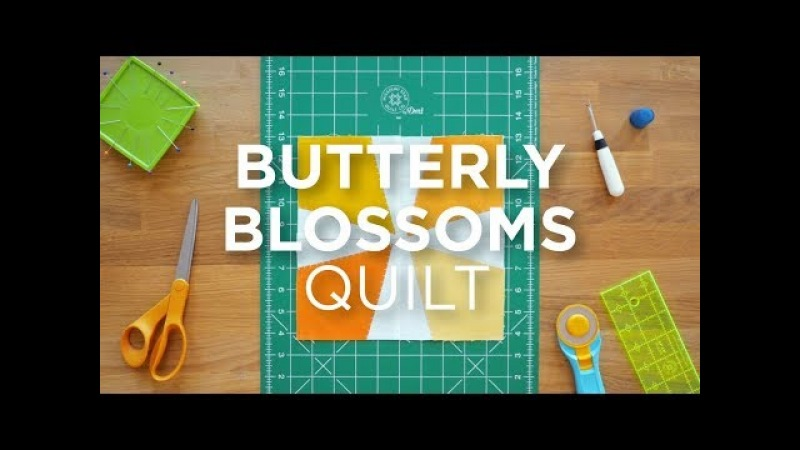 Quilt Snips Mini Tutorial - Butterfly Blossoms