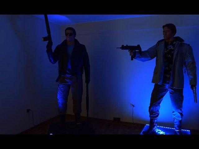 The Terminator T-800 LIFE-SIZE 1/1 Statue FOR SALE Figure of Arnold Schwarzenegger