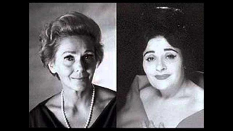 Elisabeth Schwarzkopf e Victoria De Los Angeles - Duetto buffo di due gatti (Rossini).wmv
