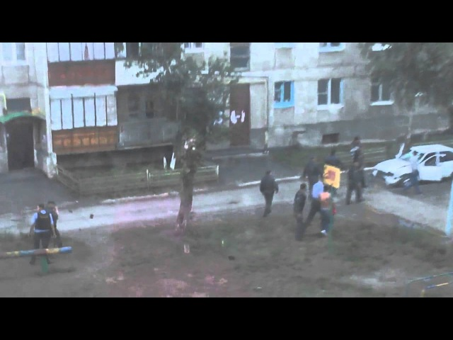 Сибайская мафия, драка, полиция, г Сибай, р.Башкортостан, лето 2013