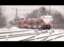 Штадлерский электропоезд отправляют на восстановление / Stadler EMU being to repairs in Belarus