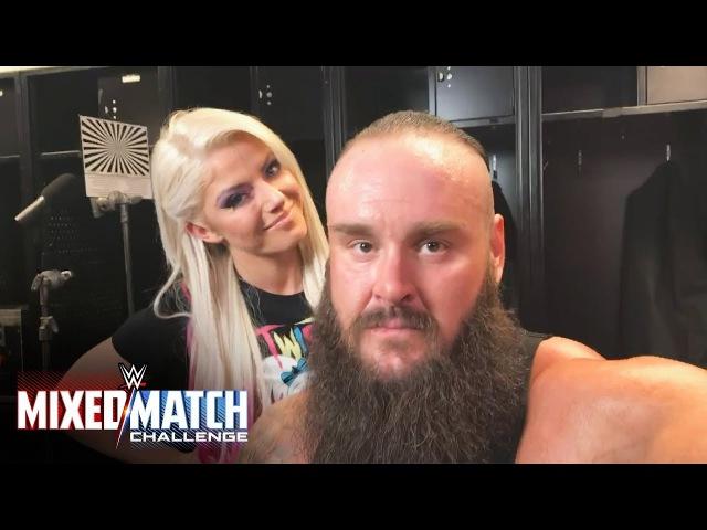 Video@alexablissdaily | Don't miss Strowman Bliss vs. Zayn Lynch in Mixed Match Challenge next week