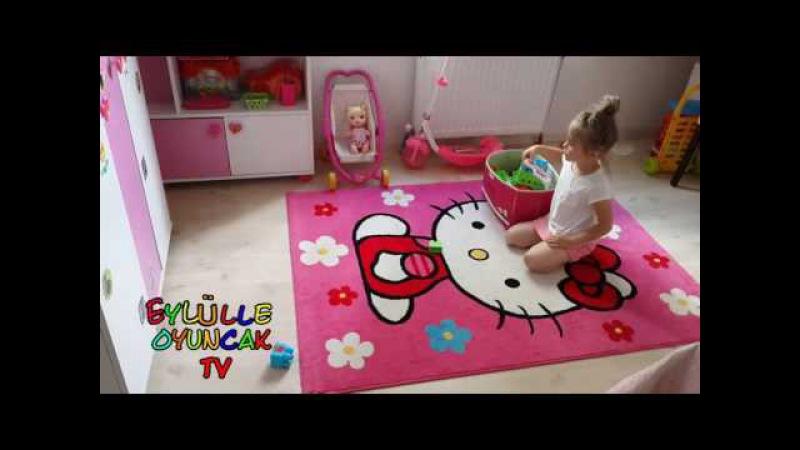 Eylül odasını topluyor,İlizyon Nasıl Yapılır,Sihirbazlık nasıl yapılır,Eğlenceli Çocuk Videosu-4