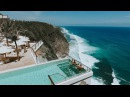 500ft high cliff top glass bottom pool experience in Bali
