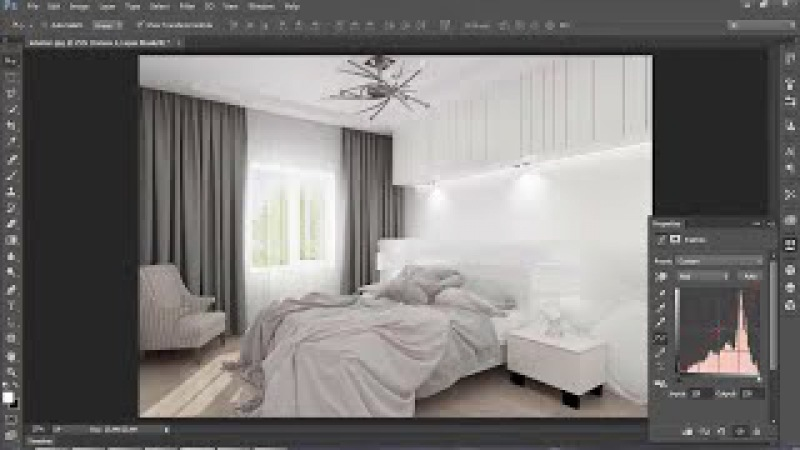 Interior modeling lighting, rendering design 3ds max vray tutorial