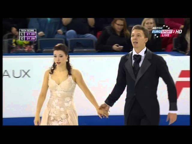 Ekaterina BOBROVA Dmitri SOLOVIEV - Skate Canada 2015 - SD