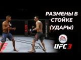 ГАЙД ПО UFC 3 РАЗМЕН В СТОЙКЕ УДАРОВ!!БАЗА ДЛЯ НОВИЧКОВ!