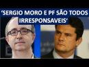 Reinaldo Azevedo DESTRÓI Sergio Moro no caso dos recibos do Lula, fica claro o MPF é canalha