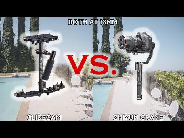 Glidecam VS. Zhiyun Crane - 3 Axis Gimbal - Comparison | Momentum Productions