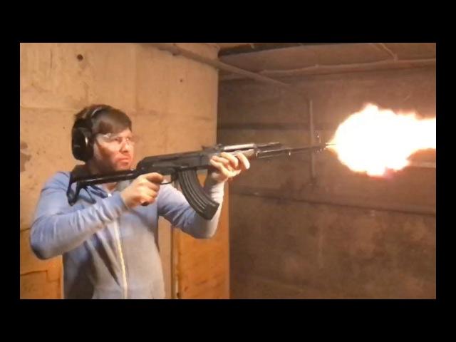 АКМС СХП обзор и стрельба